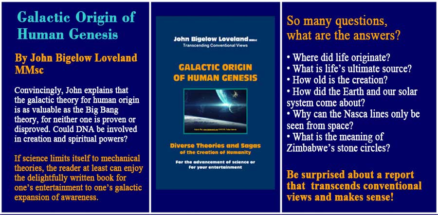 Galactic Origin of Human Genesis