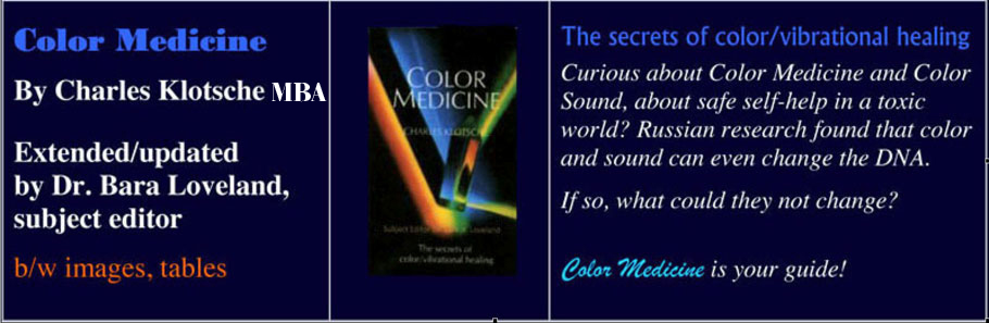 Color Medicine Book